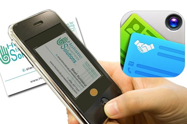 Visitekaartjescanner van Zoho, gekoppeld aan CRM