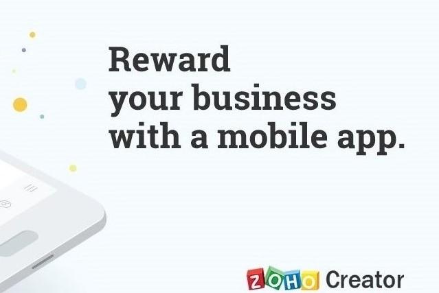 Creëer een mobiele app voor uw bedrijf met Zoho Creator 5